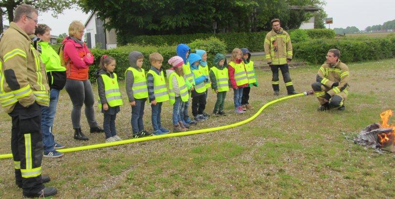Brandschutzerziehung Gefahren von Feuer